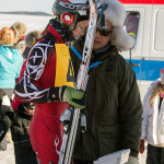 Checking the minimum weight of the competitor and equipment. Image: Aarre Jortikka.